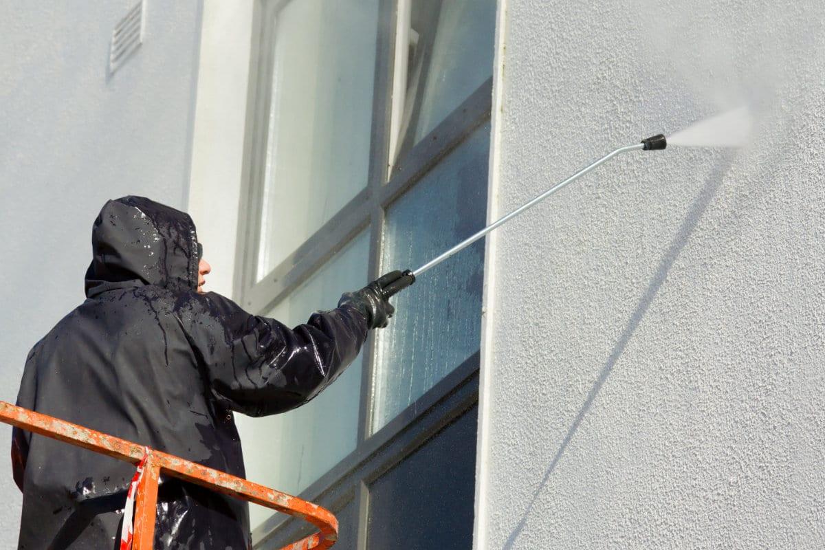 travaux de façade nettoyage